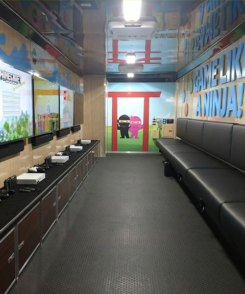 Interior of Dojo 2 Go